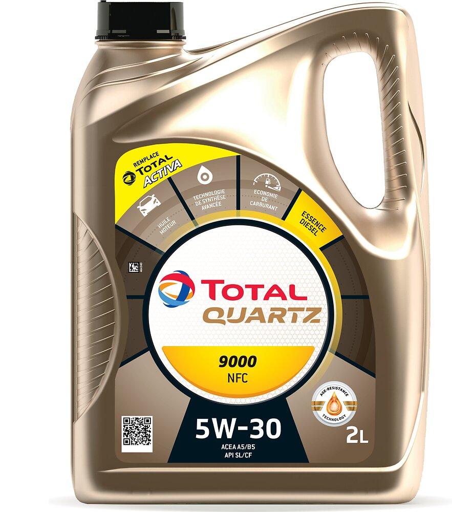 Huile Activa 9000 FUTUR NFC 5W30 Diesel 2L TOTAL