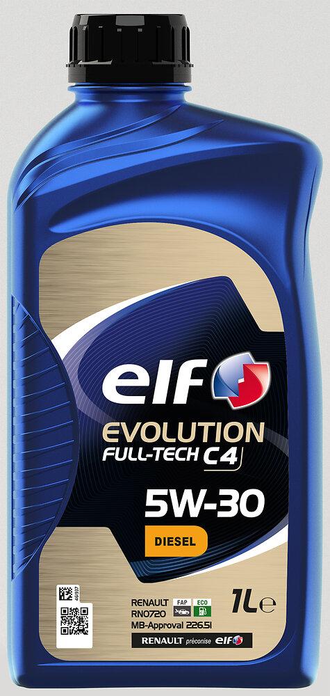 Huile Evolution Full-Tech C4 5W30 1L ELF