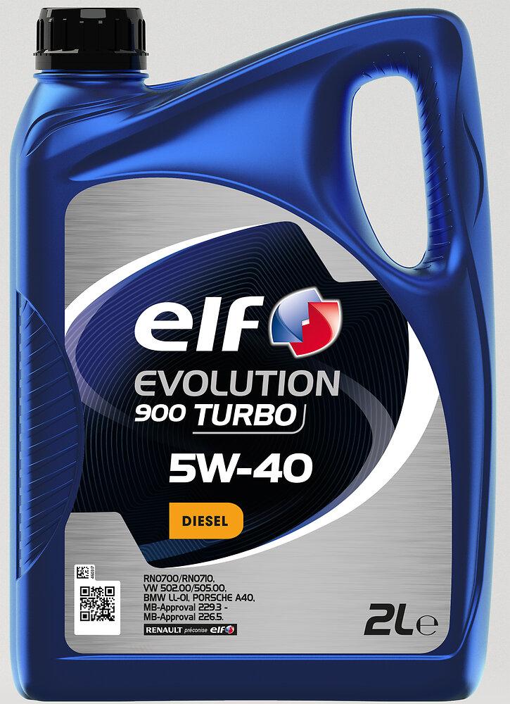 Huile Evolution 900 TURBO 5W40 2L ELF