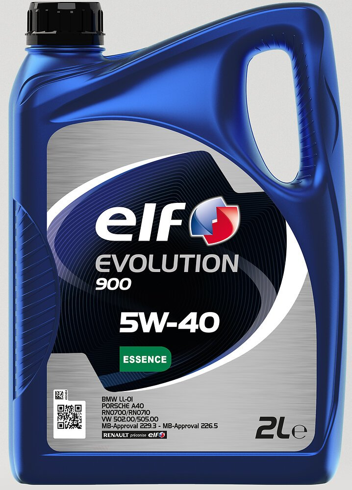 Huile Evolution 900 5W40 essence 2L ELF
