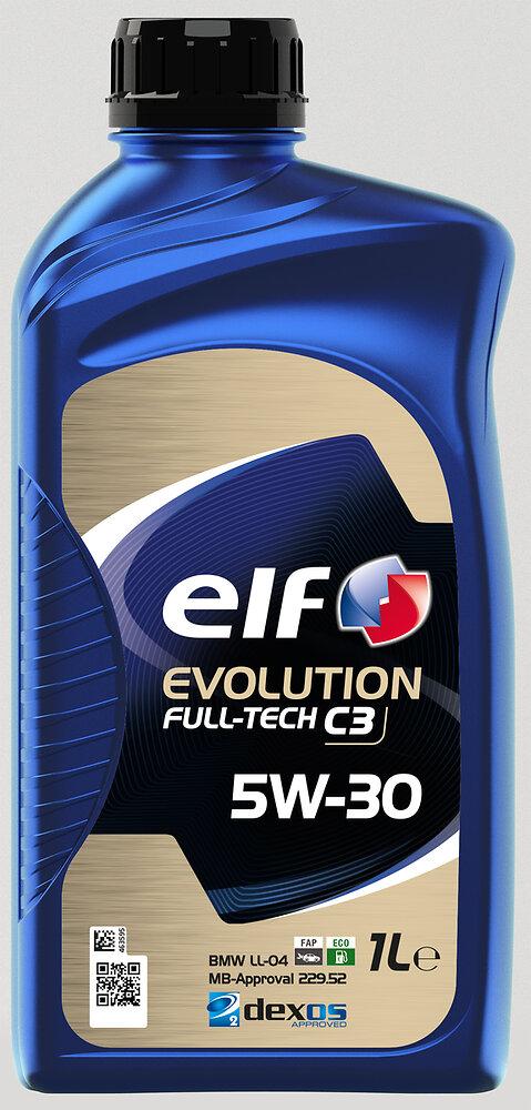 Huile Evolution Full-Tech C3 5W30 1L ELF