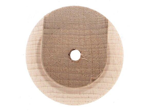 2 naissances de tringle, diamètre 20mm brut