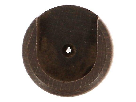 2 naissances de tringle, diamètre 35mm chêne