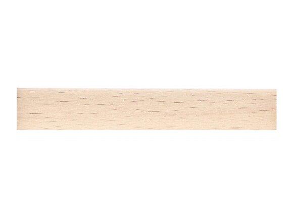 Tringle à rideaux, bois diamètre 20mm Longueur 150cm brut