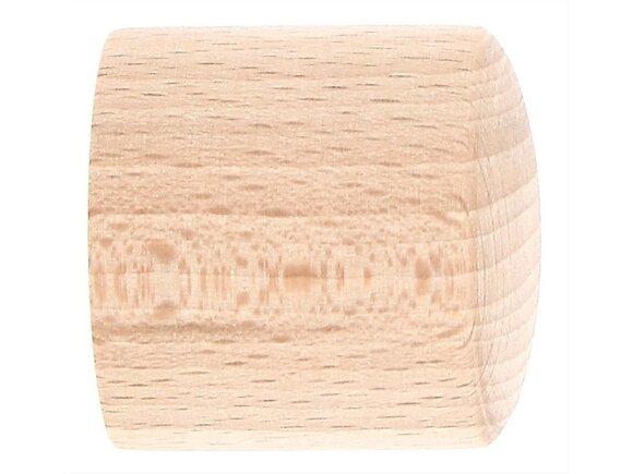 2 embouts tringle à rideaux, bouchon diamètre 28mm brut