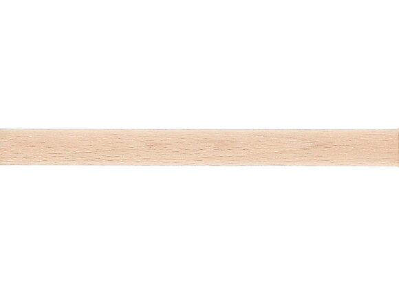 Tringle à rideaux, bois diamètre 28mm Longueur 150cm brut