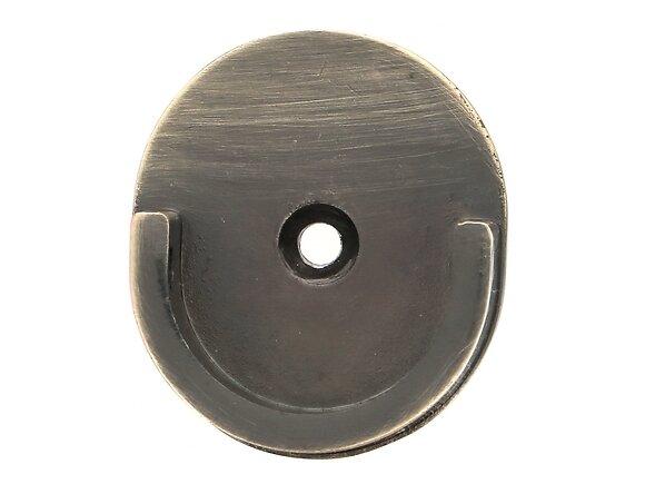 Naissance de tringle, oeil métal diamètre 28mm doré vieilli