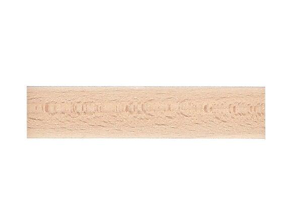 Tringle à rideaux, bois diamètre 35mm Longueur 150cm brut