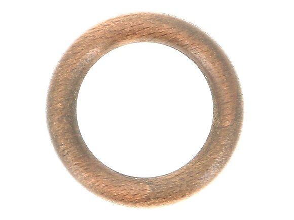 10 anneaux tringle à rideaux, diamètre 42mm bois chêne