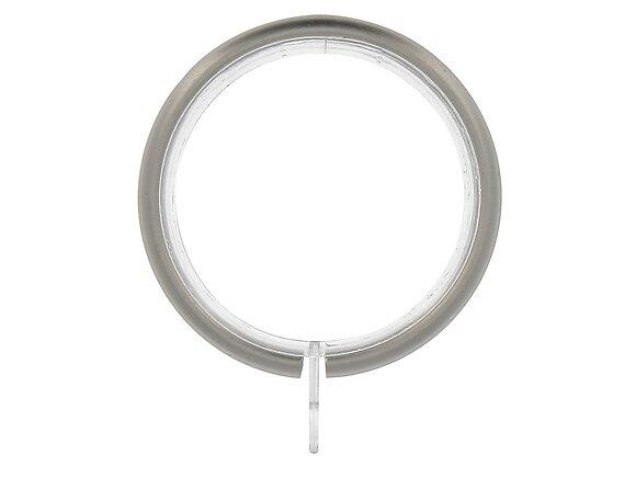 8 anneaux tringle à rideaux, diamètre 56mm chrome mat
