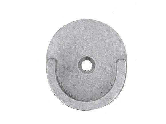 Naissance de tringle, diamètre 28mm métal gris zingué