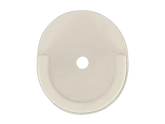 Naissance de tringle, oeil métal diamètre 28mm nacre