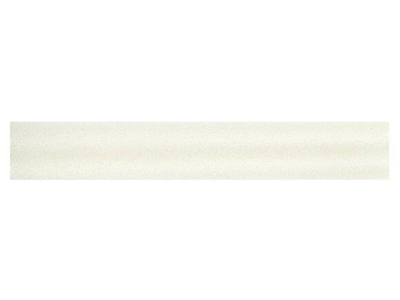 Tringle à rideaux, métal diamètre 28mm Longueur 250cm nacre