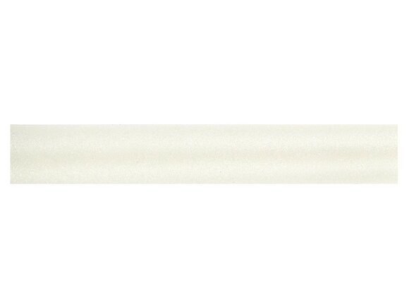 Tringle à rideaux, métal diamètre 28mm Longueur 150cm nacre