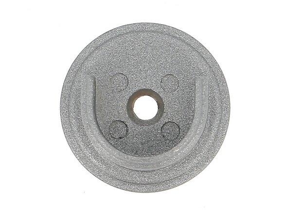 Naissance de tringle, oeil métal diamètre 20mm météorite