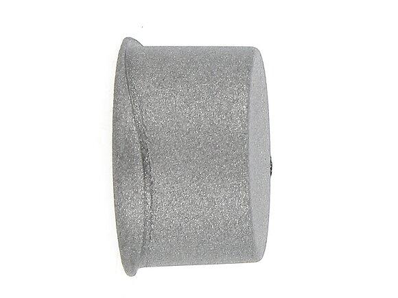 2 embouts tringle à rideaux, azha diamètre 20mm métal météorite