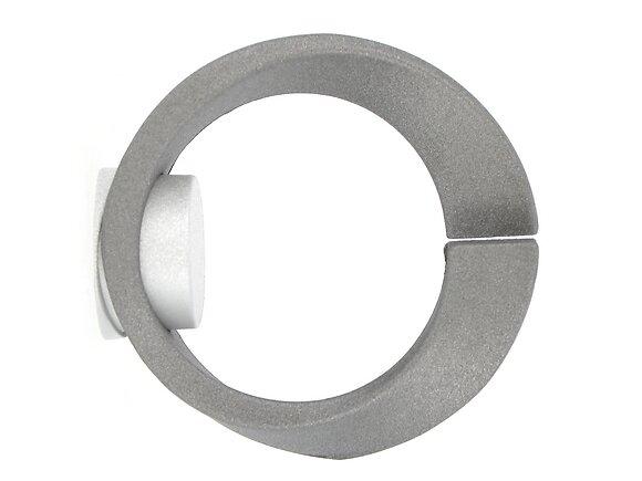 Embout tringle à rideaux, atria diamètre 20mm métal météorite