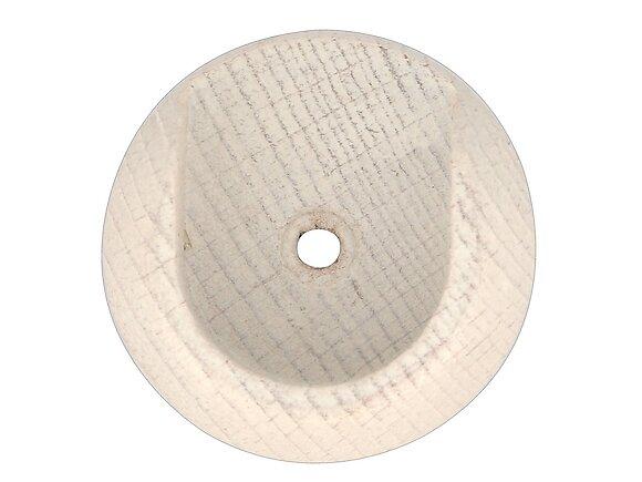 Naissance de tringle, diamètre 28mm métal blanchi