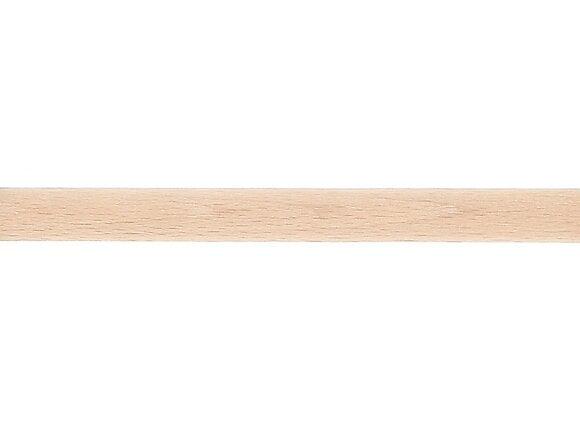 Tringle à rideaux, bois diamètre 28mm Longueur 250cm brut