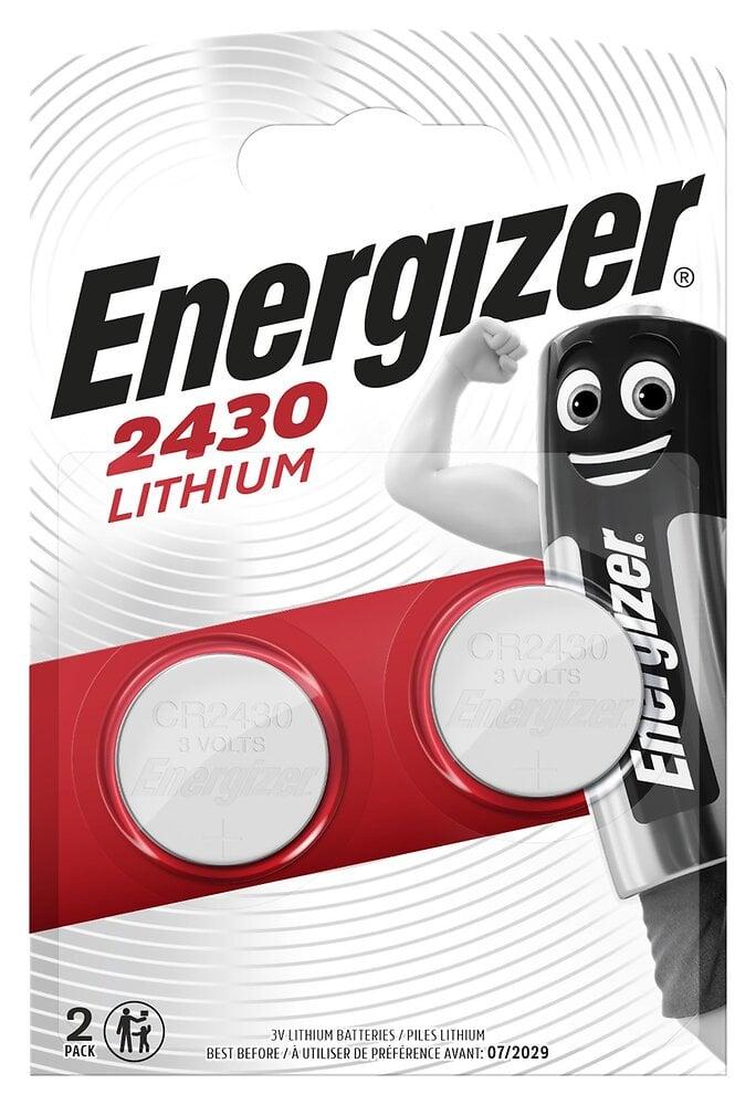 Lot de 2 Piles bouton Lithium CR2430