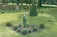 Treillis métal décoratifs planté Anis 0.50x1.80m