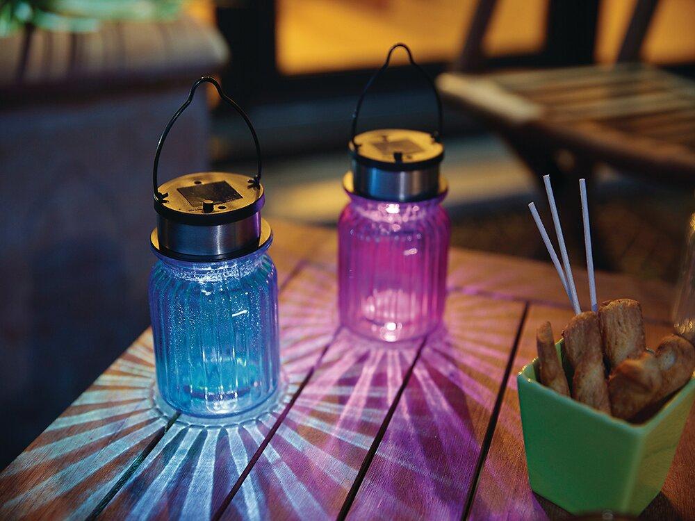Photophore verre coloré Assorties diamètre 8.3 x h12.8cm
