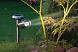 Spot solaire Acier 22x9.8 x hauteur 25cm