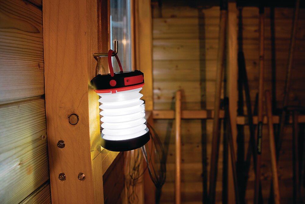 Lanterne rétractable solaire Assorties diamètre 8.4 x hauteur 5cm