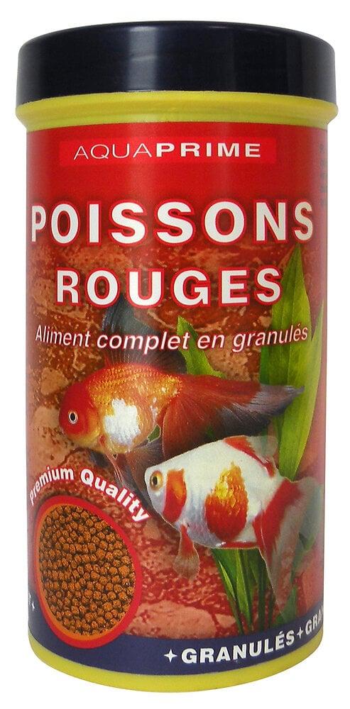 Granules pour poisson rouge (250 ml) - AQUAPRIME