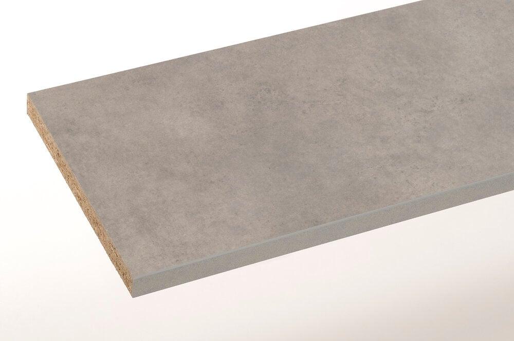 Plan de travail béton 185x61cm épaisseur 28mm PEFC 75%