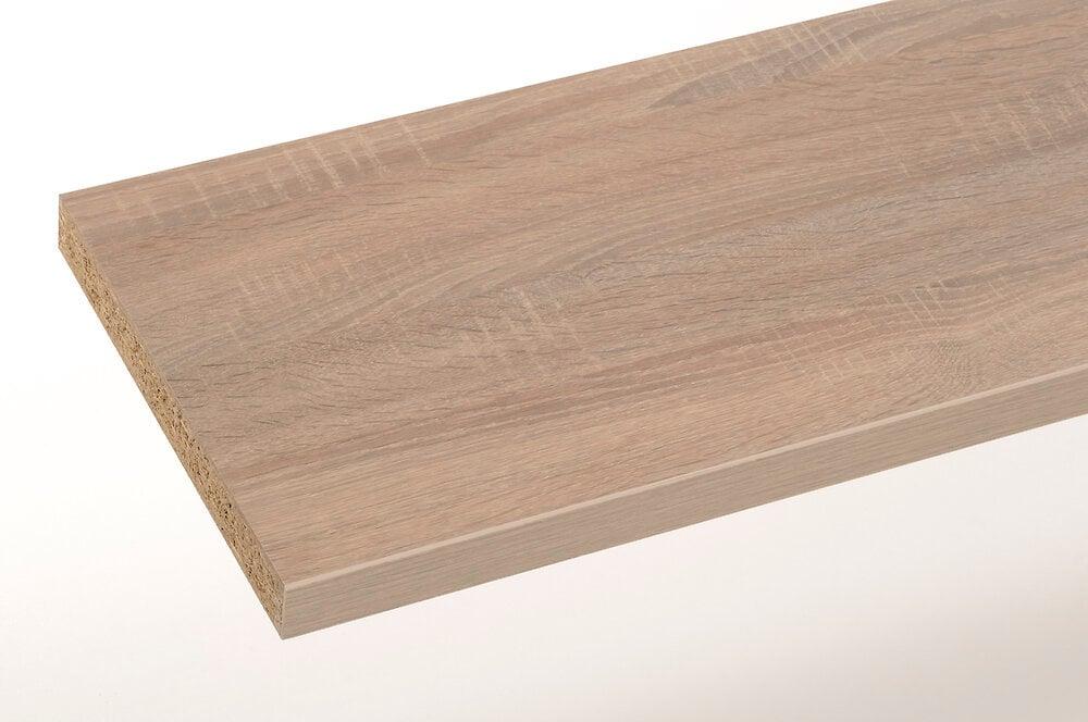 Plan stratifié chêne scie 300x65cm épaisseur 38mm PEFC75%