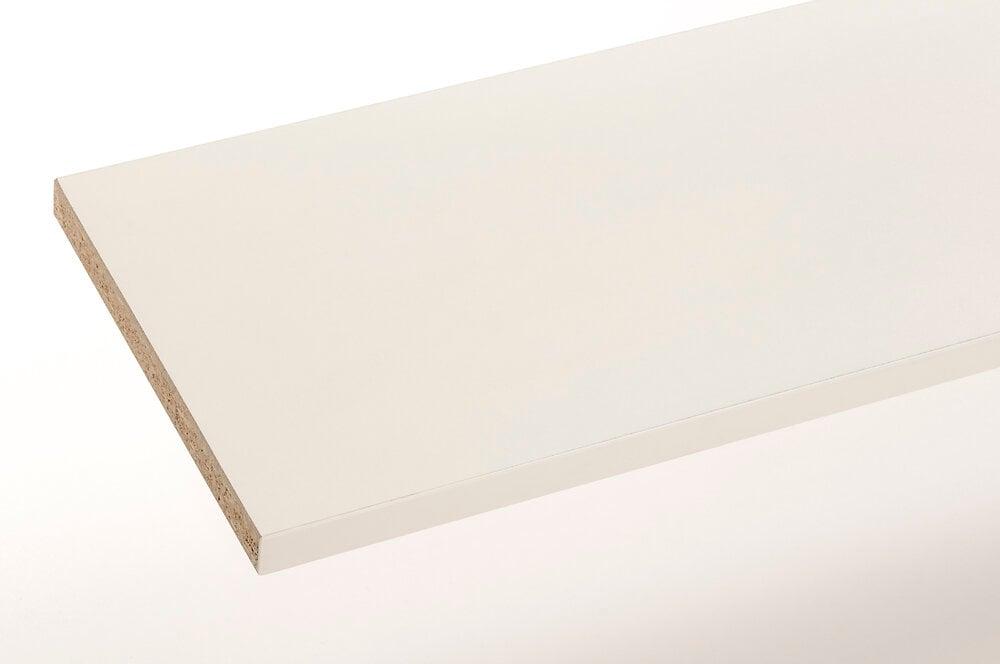 Plan stratifié blanc 200x65cm épaisseur 38mm PEFC75%