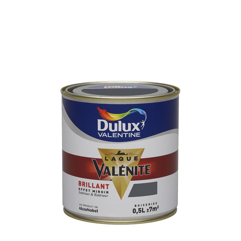 Laque Valénite Brillant Gris Foncé Pot 0.5L