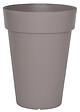 Pot de fleurs Soleilla hauteur 66cm diamètre 50cm taupe