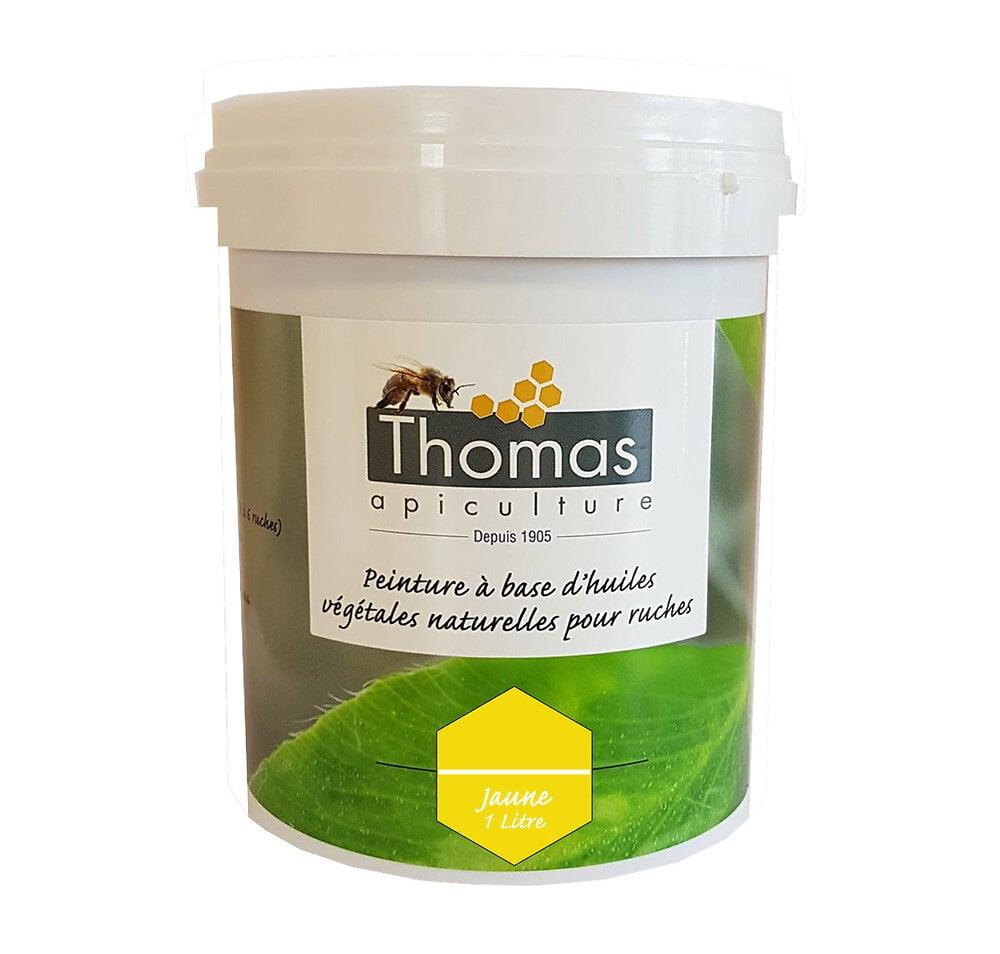 Peinture thomas base végétale 1 litre / jaune