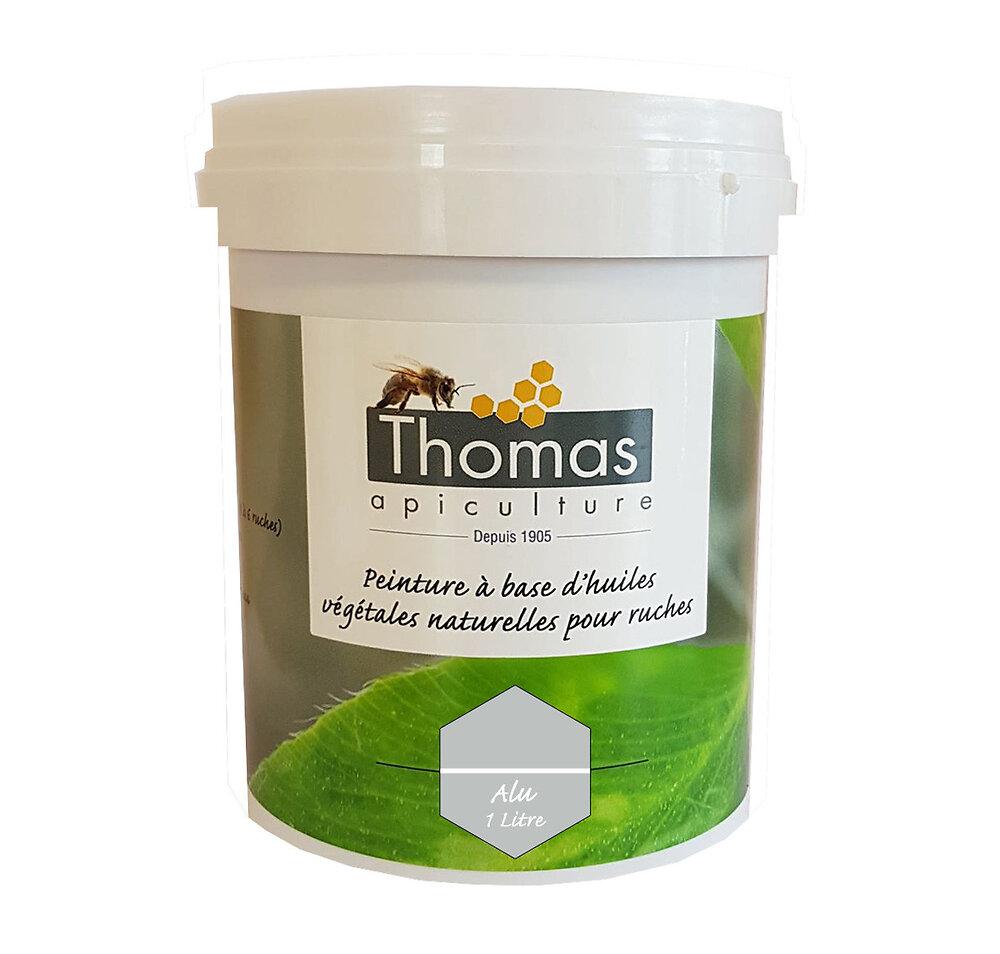 Peinture thomas base végétale 1 litre / alu