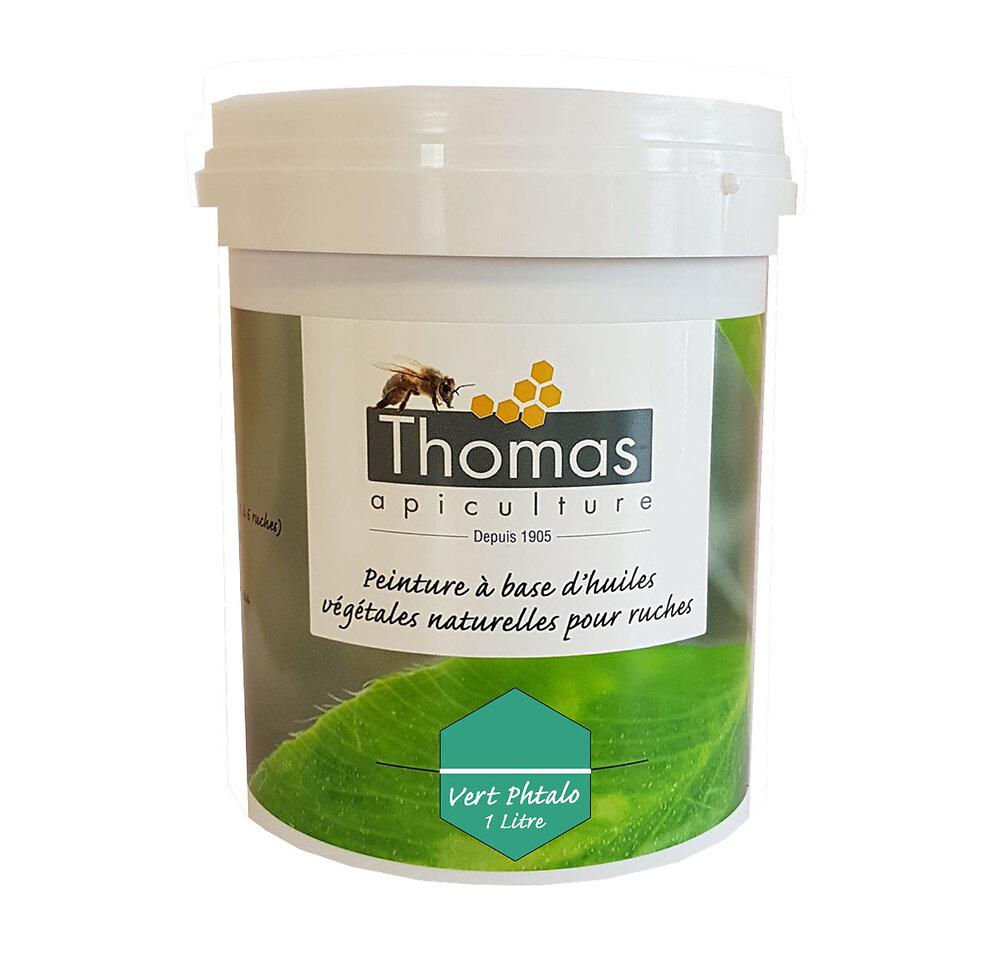 Peinture thomas base végétale 1 litre / vert phtalo