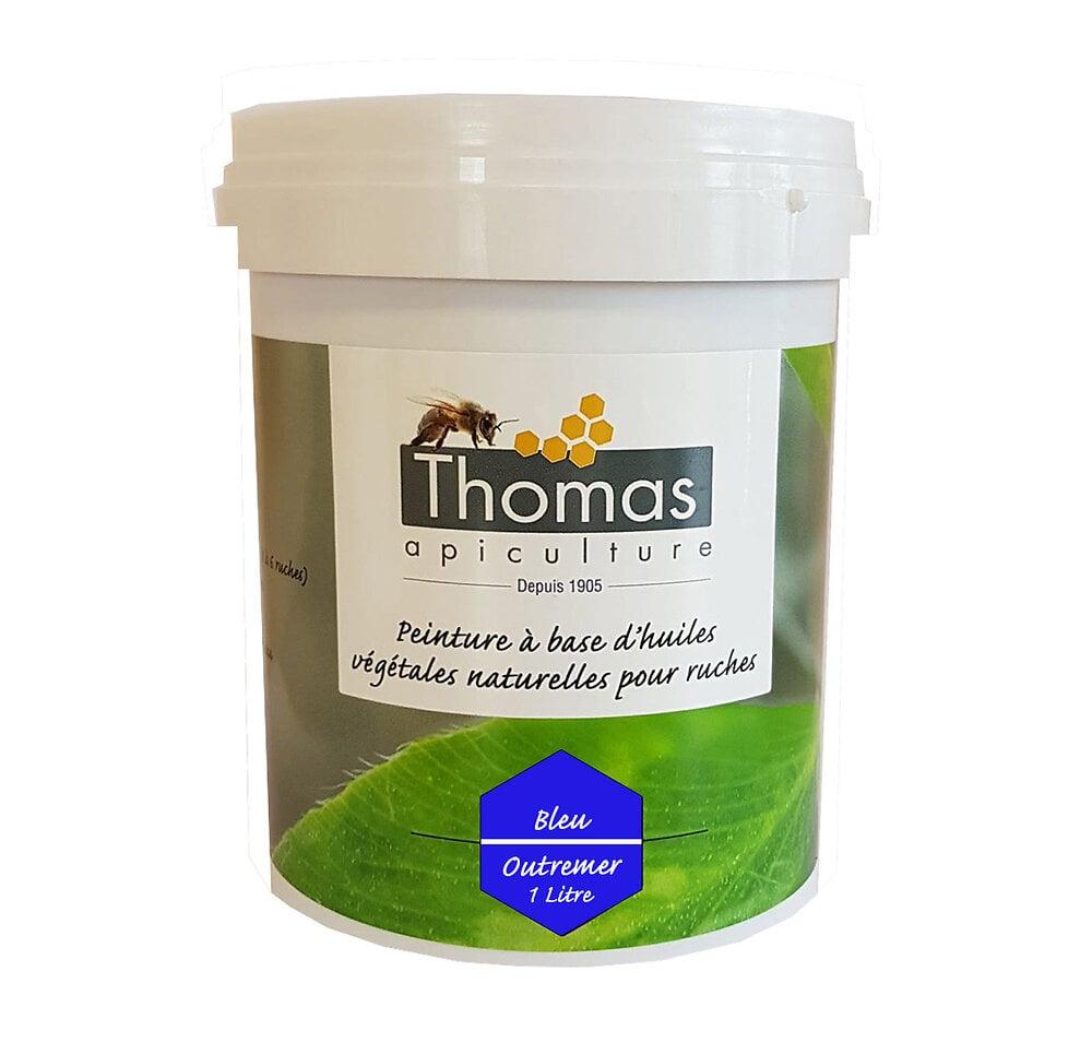 Peinture thomas base végétale 1 litre / bleu outremer
