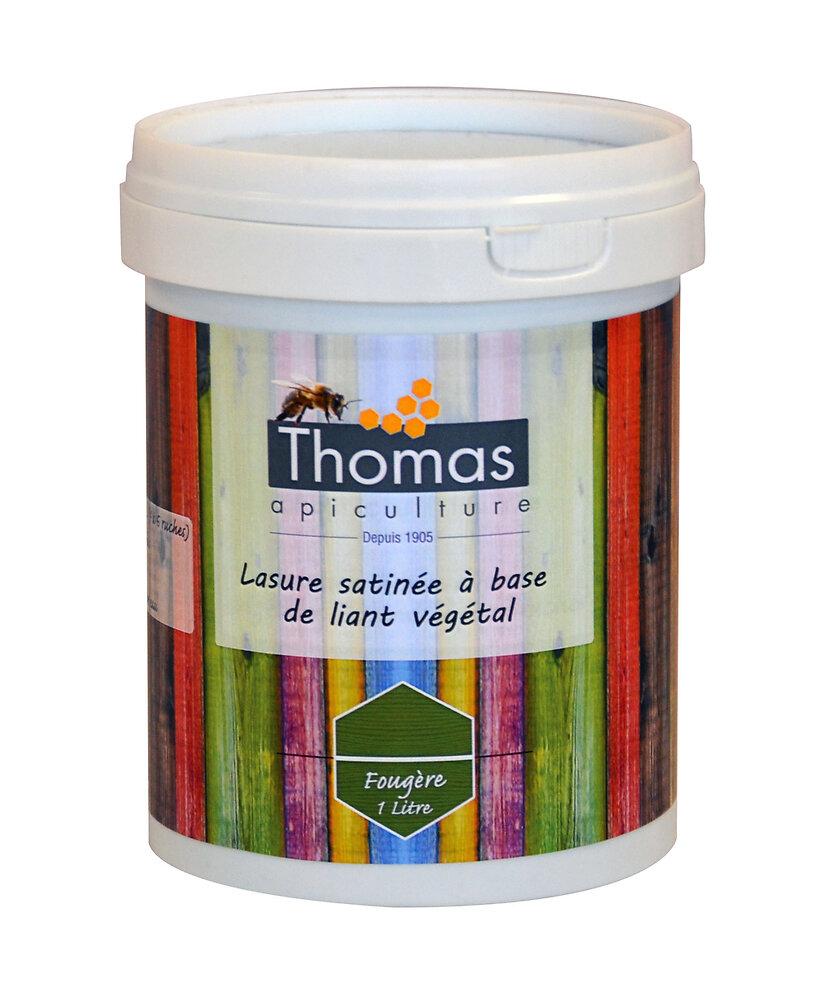 Lasure satinée thomas base végétale / vert fougère