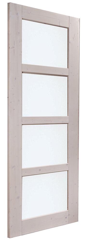 Porte Aix vitrée