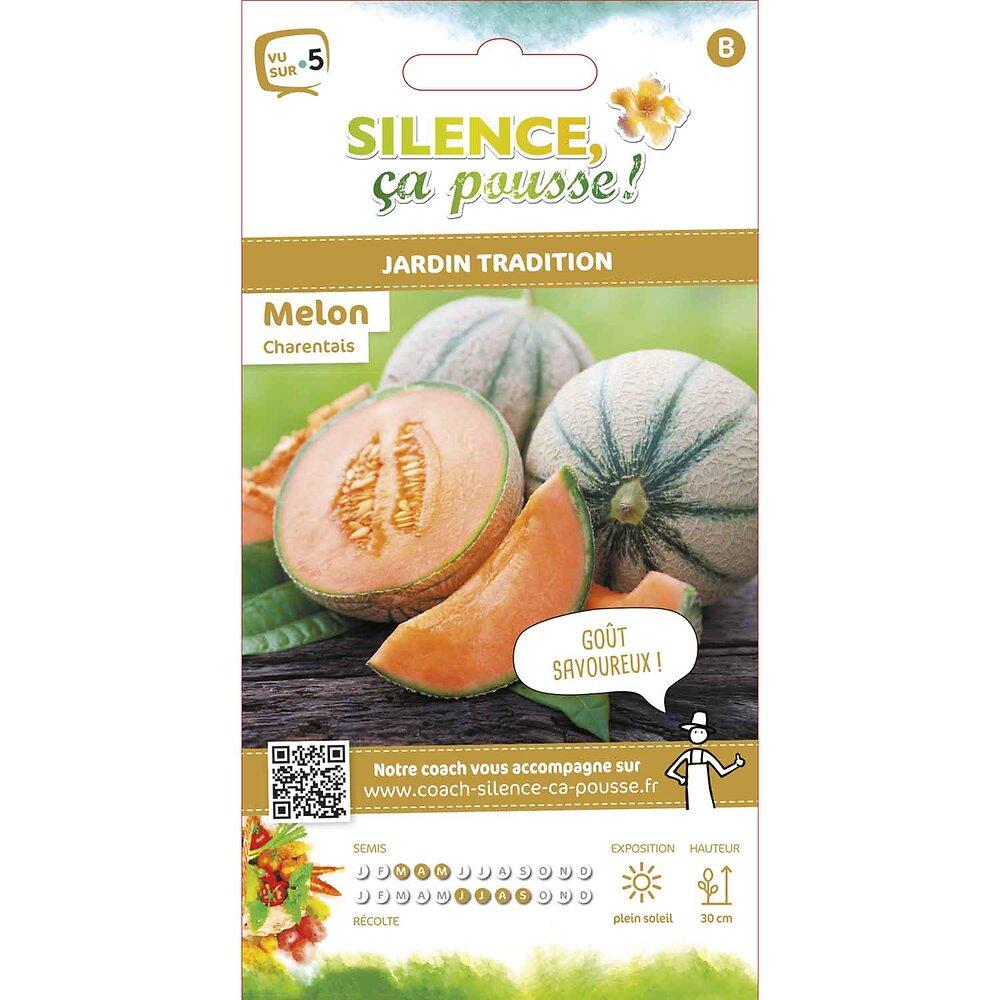 Semences de melon charentais 2.5g