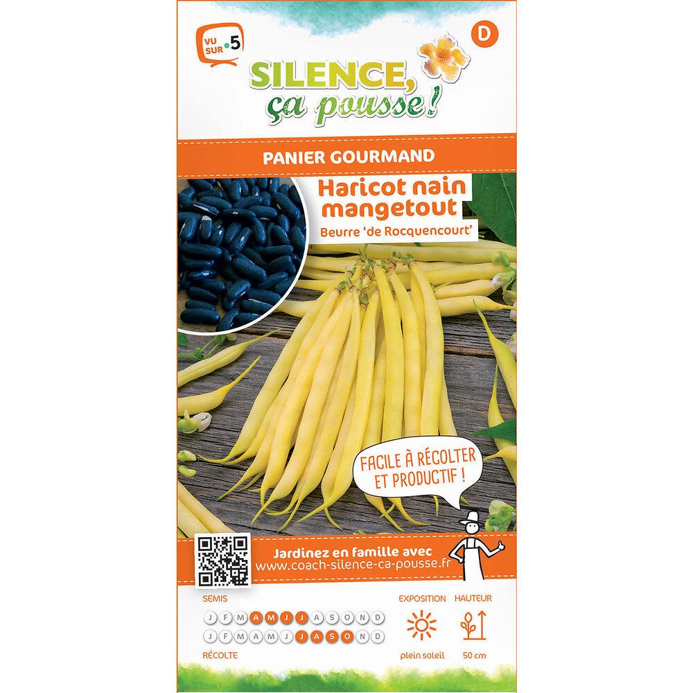 Semences de haricot nain mangetout beurre de rocquencourt 80g