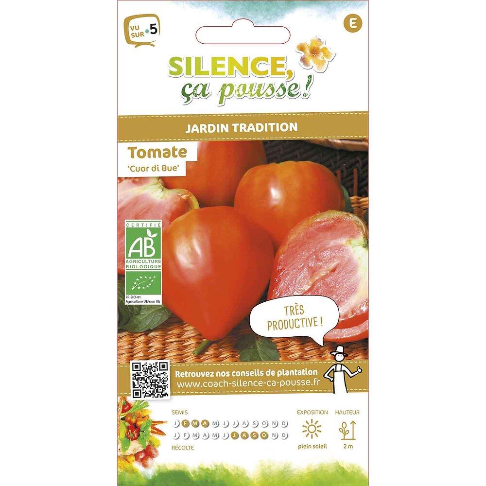 Semences de tomate cuor di bue/coeur de boeuf 0.25g bio