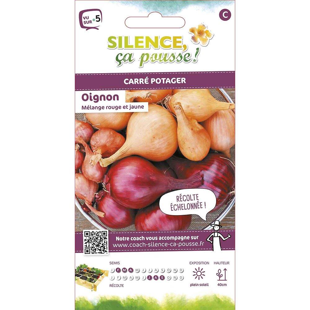 Semences de oignon en mélange/rouge et jaune 2g