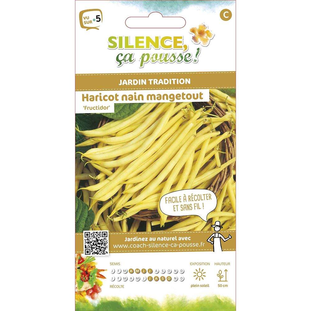 Semences de haricot nain beurre fructidor 15g