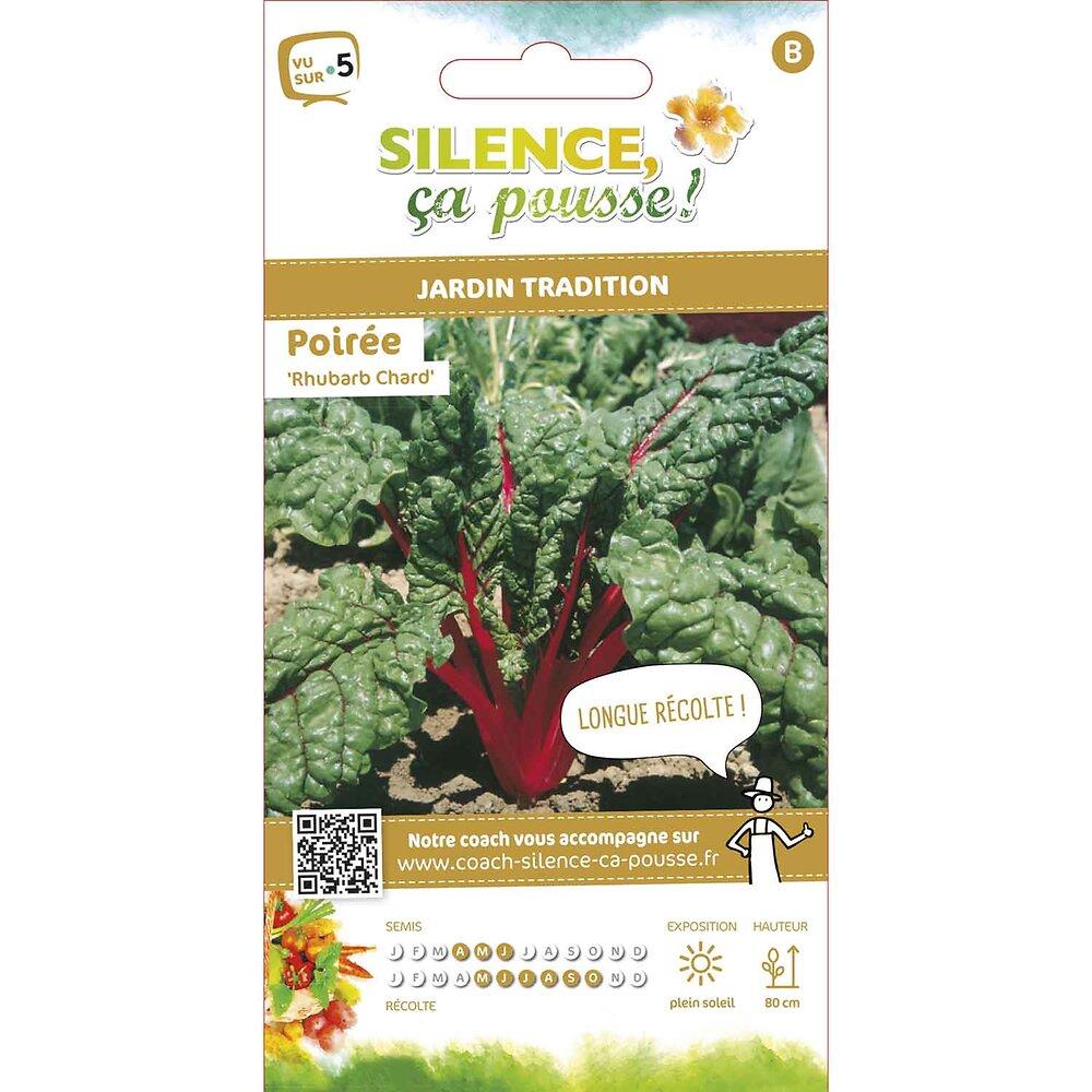 Semences de poirée rouge rhubarb chard 5g