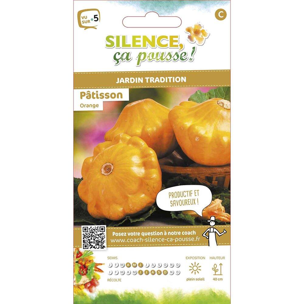 Semences de patisson orange 3g