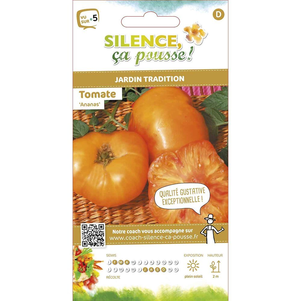 Semences de tomate ananas/pineapple 0.15g