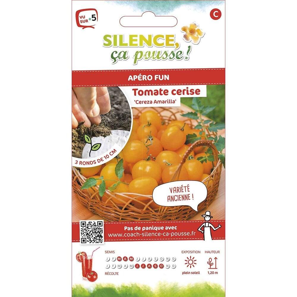 Semences de tomate cerise jaune/cereza amarilla rondg