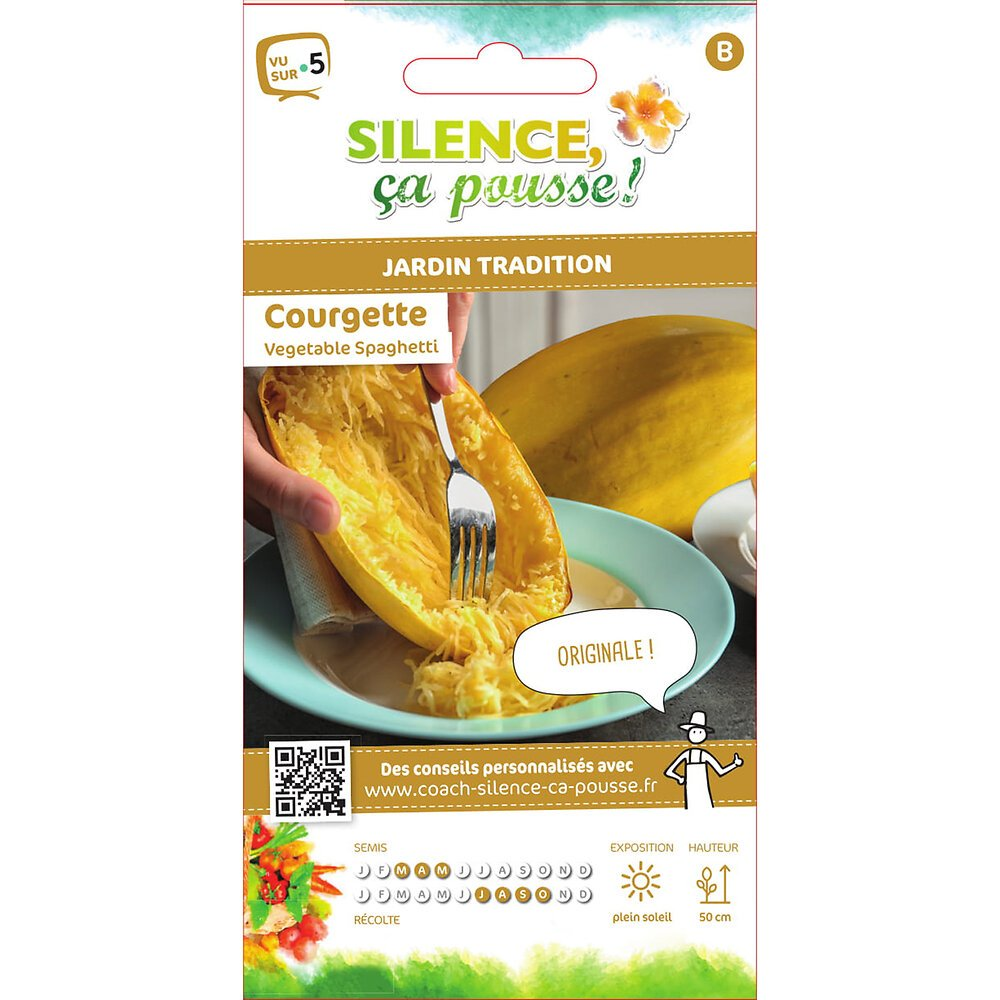 Semences de courgette vegetable spaghetti 4g